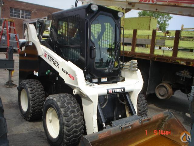 2013 TEREX TSV90 Wheel TEREX TSV90 Crane amp Machinery Inc 18891 on CraneNetworkcom